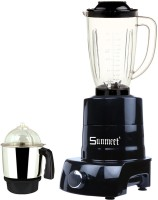 Sunmeet MA MGJ WOF 2017-144 MA ABS Body MGJ WOF 2017-144 1000 W Juicer Mixer Grinder(Black, 2 Jars)