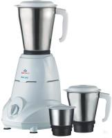 Bajaj Rex 500 W Mixer Grinder(White, 3 Jars)