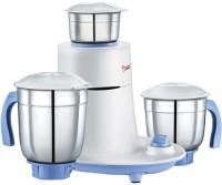 Prestige mist 550 W Mixer Grinder(White, Blue, 3 Jars)