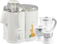 Havells Endura 500 W Juicer Mixer Grinder(White, 3 Jars)
