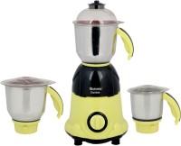 Rotomix Ultimate 600 W Mixer Grinder(Yellow, Black, 3 Jars)