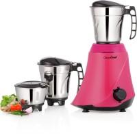 Greenchef NETO-PINK 550 W Mixer Grinder (3 Jars, Pink)