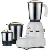 Bajaj Glory 500 W Mixer Grinder(White, 3 Jars)