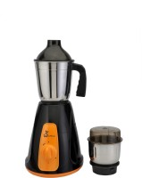 Green Home Two Jarset Orange&Black450 450 W Mixer Grinder(Orange, 2 Jars)