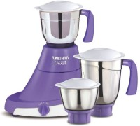 AMIRTHAA SUPER LAVO 550W (3 Jars) 550 W Mixer Grinder(Lavender with White, 3 Jars)