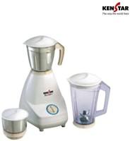 Kenstar SenatorSS MG-0120SS 500 W Mixer Grinder (3 Jars, White)