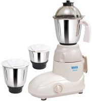 Boss B212 500 W Mixer Grinder(Cream, 3 Jars)