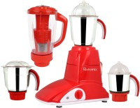 Rotomix MG16-687 600 W Juicer Mixer Grinder(Red, 4 Jars)