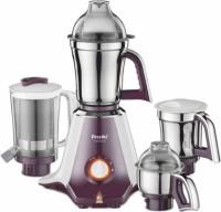 Preethi Taurus MG 217 750 W Mixer Grinder(white and purple, 4 Jars)