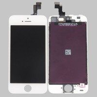 Cellbazaar LCD Mobile Display for Apple iPhone 5S(With Touch Screen Digitizer, White)