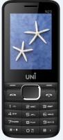 UNI 2.4 Inch Dual Sim Mobile(White, Black)