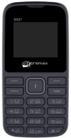 View Micromax X597 WITHOUT CHARGER(Black) Mobile Price Online(Micromax)