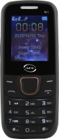 Infix Infix N1 Dual Sim Multimedia with Auto Call Record-Black(Black)