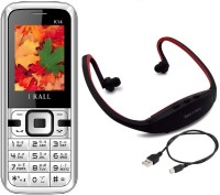 I Kall K14 with MP3/FM Player Neckband(Black & White) - Price 699 41 % Off