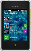 Nokia Asha 502 (Yellow, 64 MB) - Price 3499 46 % Off