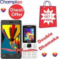 Champion CHAMPION MP 42 (Black, White, 2 GB)(512 MB RAM) - Price 3099 37 % Off
