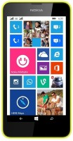 Nokia Lumia 630 Dual Sim (Bright Yellow, 8 GB)(512 MB RAM)