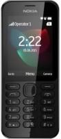 Microsoft NOKIA 222 DS(Black) - Price 2849 28 % Off
