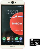 Good One Selfie (White, Red, 4 GB)(512 MB RAM)