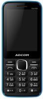 Adcom X16 (Fun) Dual Sim Mobile-Black & Blue(Blue, Black)