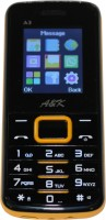 AK Bar Phone A 3(Black, Yellow)
