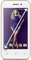 Zen Admire Curve 4 GB with Free Back Cover (Champagne Gold, 4 GB)(512 MB RAM)