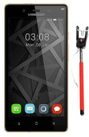 Videocon Krypton V50FG (Black and Gold, 16 GB)(2 GB RAM)
