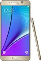 Samsung Galaxy Note 5 64GB Single Sim - Gold (Gold, 64 GB)(4 GB RAM) - Price 38950 29 % Off