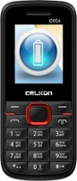Celkon C604 Dual sim Feature Phone - Black and Red