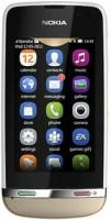 Nokia Asha 311 (Sand White, 140 MB)(128 MB RAM) - Price 3999 53 % Off