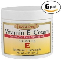De La Cruz 6pk - Vitamin E Cream - Vitamina E - Moisturizer(120 ml)