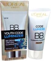 L'Oreal Paris Youth Code Luminizer Bb Cream Medium Spf 15(50 ml)