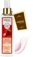 BodyHerbals Strawberry Natural Moisturising Body Lotion, Hydrating Skin Booster (200 ml)(200 ml)