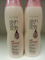 Avon Skin So Soft lot of 2 sss soft & sensual ultra moisturizing body lotion 11.8 oz.ea(354 ml)