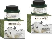 Richfeel Skin Whitening Massage Cream 100g (Pack Of 2)(200 g)
