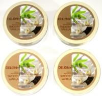 Delon+ DELON Intense Moisturizing Smooth Vanilla Body Butter (4-Pack)(207 ml)