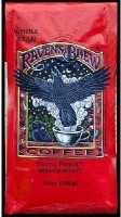 Raven's Brew Coffee Raven's Brew Whole Bean Ebony Pearls, French Roast - Bag(360 ml)