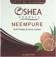Oshea Herbals Neempure Anti Pimple & Acne Cream 50gm(50 g)