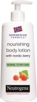Neutrogena NORWEGIAN FORMULA NOURISHING BODY LOTION WITH NORDIC BERRY(250 ml)