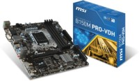MSI B150M PRO-VDH Motherboard(Black)