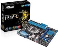 Asus H61M-D Motherboard(Black)