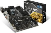 MSI Z170A Pro Motherboard(Black)