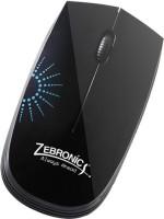 ZEBRONICS Sun Black Wired Optical Mouse(USB, Black)