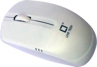 LiveTech 2.4GHz Wireless Wired Optical Mouse(USB, White)