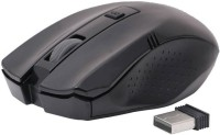 Adnet 2.4Ghz With Nano Receiver Black Wireless Optical Mouse(USB, Black)