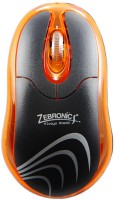 Zebronics Petal Orange Wired Optical Mouse(USB, Orange)