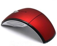 View Outre 2.4Ghz Folding ARC Wireless Optical Mouse(USB, Red) Laptop Accessories Price Online(Outre)