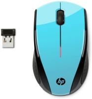HP X3000 Wireless Optical Mouse(USB, Blue)
