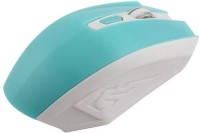 speed Big 2.4 ghz Wireless Optical Mouse  with Bluetooth(White, Blue)