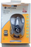 View Lapcare WL300 Wireless Mouse Wireless Optical Mouse(USB, Black) Laptop Accessories Price Online(Lapcare)
